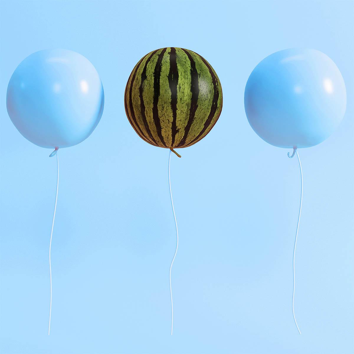globos-sandia-azul-diseño-web-la central badiola