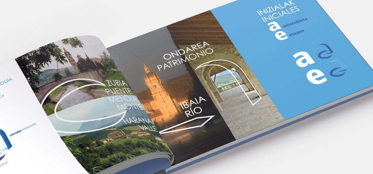diseño-manual-identidad-corporativa-marca-ciudad-amorebieta-papeleria-la central badiola