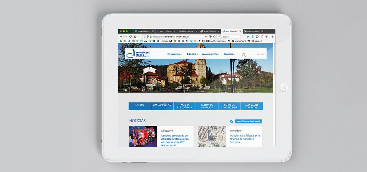 diseño-marca-ciudad-amorebieta-ipad-la central badiola