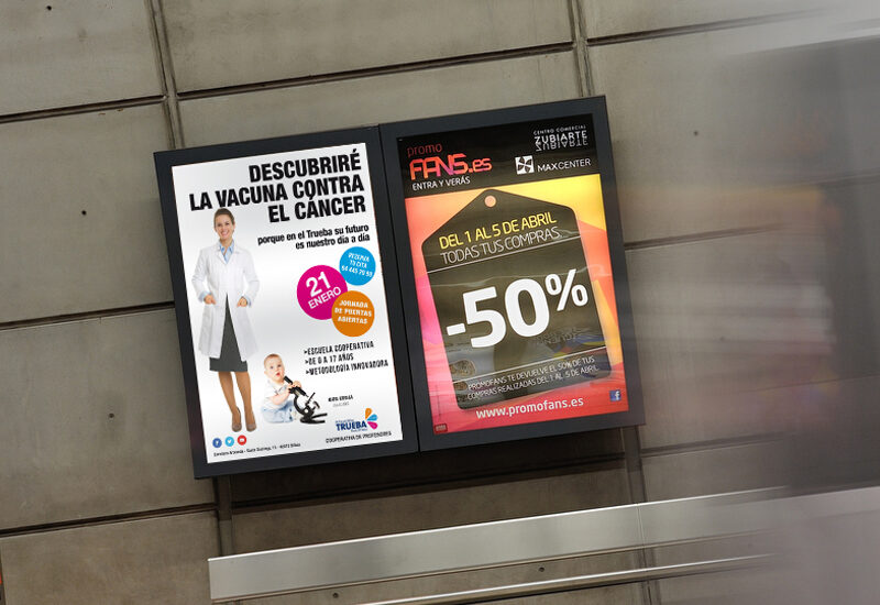 diseño-carteles-metro-bilbao-colegio trueba-la central badiola