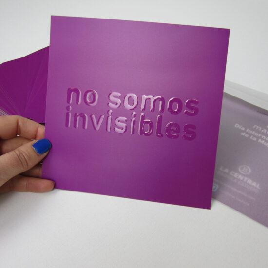 dia-internacional-mujer-8 de marzo-invisibles-la central badiola
