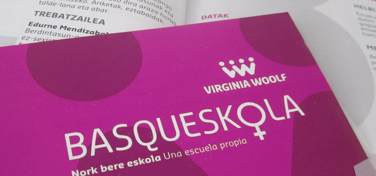 eudel-basqueskola-jornadas-mujer-virginia woolf-la central badiola