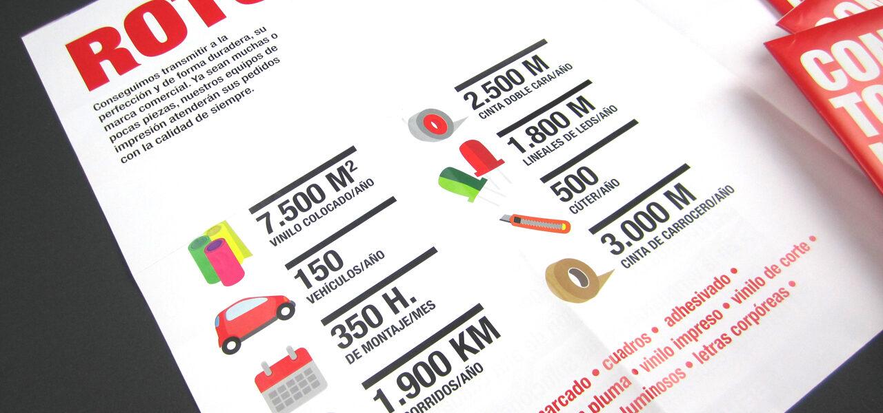 goya-papeleria-bilbao-folleto-diseño-la central badiola