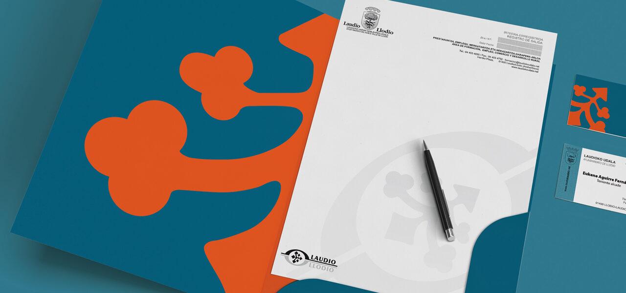 diseño-manual-identidad-corporativa-marca-ciudad-laudio-llodio-la central badiola