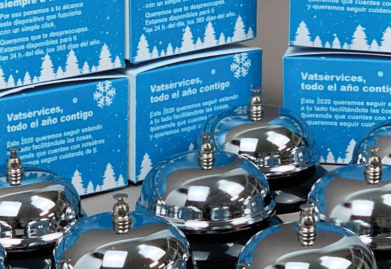 vat services-diseño-creatividad-campanillas-navidad-felicitacion-la central badiola
